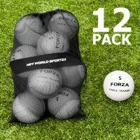 FORZA Gaelic Training Footballs and Carry Bag [12 Pack] - Size 5