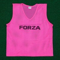 Pink FORZA Pro Rugby Training Bibs/Vests [15 Pack - Adult]