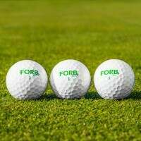 FORB F-3 Golf Balls – Ultra Precision Golf Balls [3 Pack]