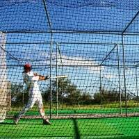 10.7m x 3m x 3m Baseball Batting Cage Net (#36)