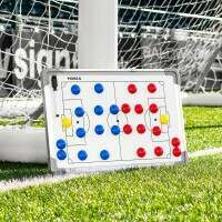 45cm x 30cm Soccer Tactics/Coaching Board - Double Sided