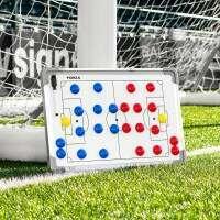 45cm x 30cm Fußballtaktik/ Trainertafel - beidseitigen