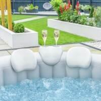 CosySpa Hot Tub Nackstöd & Dryckeshållare Set