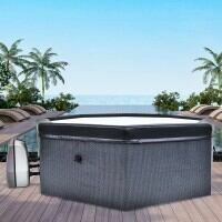 CosySpa Deluxe Rigid Foam Hot Tub - Tub Only