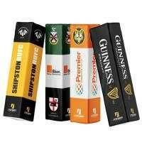 "Digitally Printed Rugby Post Protectors - 41cm (16"") Set of 4"