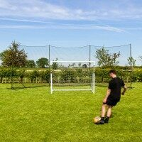 Stop That Ball™ 9m (30ft) - Ball Stop Net & Post