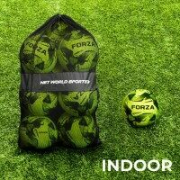FORZA Indoor Footballs & Carry Bag [12 Pack] - Size 5
