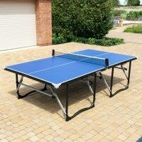 Vermont Foldaway Easy-Store Table Tennis Table + Beginner Set