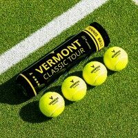 Vermont klassische Tennisbälle [12 Bälle / 1 Dutzen]