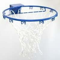 Wall Mounted Netball Ring & Net