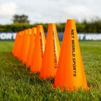 23cm FORZA Hockey Training Marker Cones [10 Pack]