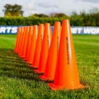 38cm FORZA Hockey Training Marker Cones [10 Pack]