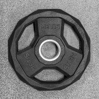 METIS PU Pro Olympic Weight Plates [Pair of 5kg Weight Plates]