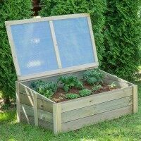 Harrier Wooden Cold Frame