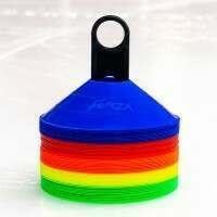 FORZA Ice Hockey Training Marker Cones [Multi-Coloured - Pack of 50]