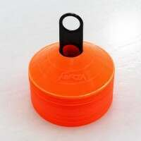 FORZA Hockey Training Marker Cones [Orange - Pack of 50]
