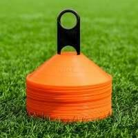 FORZA Landhockey Träning Markeringskoner [Orange] - Pack med 50