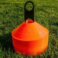 50 FORZA Rugby Training Marker Cones [Orange]