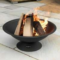 Harrier Steel Outdoor Fire Pit [22in]