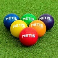 METIS 15cm Dodgebollar av mjukt skummaterial – Storlek 1 [Pack med 6] + Bärväska