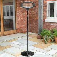 Harrier Rounded Standing Patio Heater [9kg]