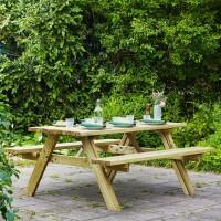 Harrier Wooden Picnic Table