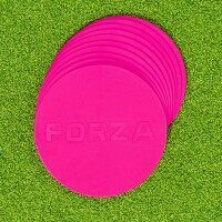 [Pack of 10] FORZA Flat Disc Markers [Pink]