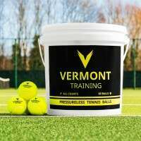 Vermont Training Tennis Balls [60-Ball Bucket]
