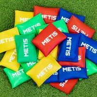 METIS Soft Bean Bags [12 Pack - Red]