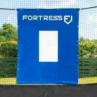 FORTRESS Baseball Vinyl Net Saver With Target
