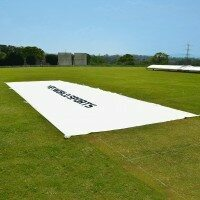 Cricket Flat Sheet Covers - 25m x 8m