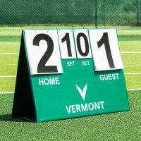 Tableau d'Affichage de Tennis Portable de Vermont