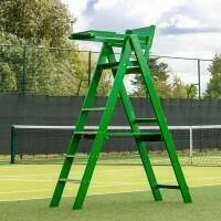 Traditional Wooden Tennis Umpire's Chair