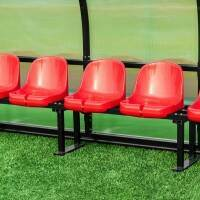 FORZA Plastic Shelter & Stadium Sports Seats [Red]
