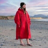 AquaTec Changing Robe [Red - Small]