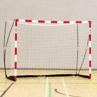 FORZA ProFlex Handball Goal [10ft x 6.5ft] - Red