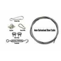 Steel Wire Cable Net Hanging Kit [Complete Package #2]