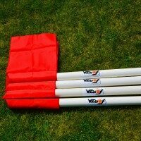Pro Corner Flag & Pole [Set of 4]