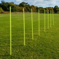 1.8m Spring Loaded Aussie Football Training Slalom Poles [Pack Of 8]