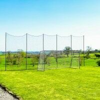 Stop That Ball™ - 40ft Socketed Ball Stop Net & Post System