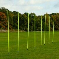 5ft Spring Loaded Slalom Training Poles [25mm] - [8 Pack]