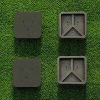 Tennis Post Socket Caps [Pack of 2] - Square