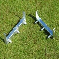 Stainless Steel Cricket Stump Position Gauge - Senior
