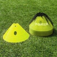 Yellow FORZA Multi-Sport Superdome Training Marker Cones [Pack of 20]