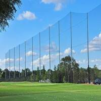 Golf Ball Stop Net & Post Systems [Any Size]