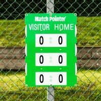 Fence Mounted Tennis Scoreboard [Medium]