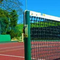 Round Pickleball Posts With Ground Sockets
