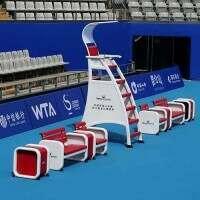 Vermont ITF Tennis Umpire Chair & Player Bench Set