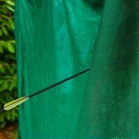 Premium Quality Archery Backstop Nets – 10ft x 10ft (Green)
