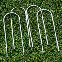 Steel U-Peg Goal Anchors